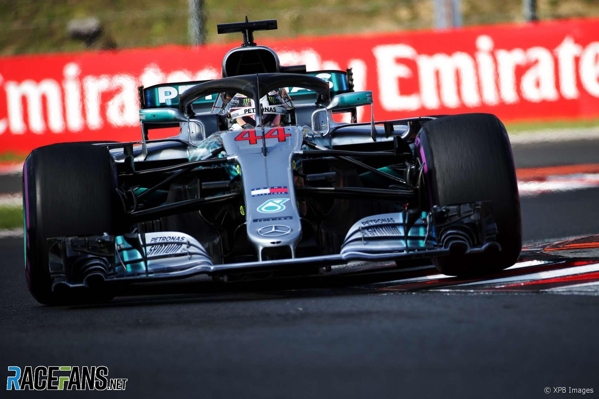 Lewis Hamilton, Mercedes, Hungaroring, 2018
