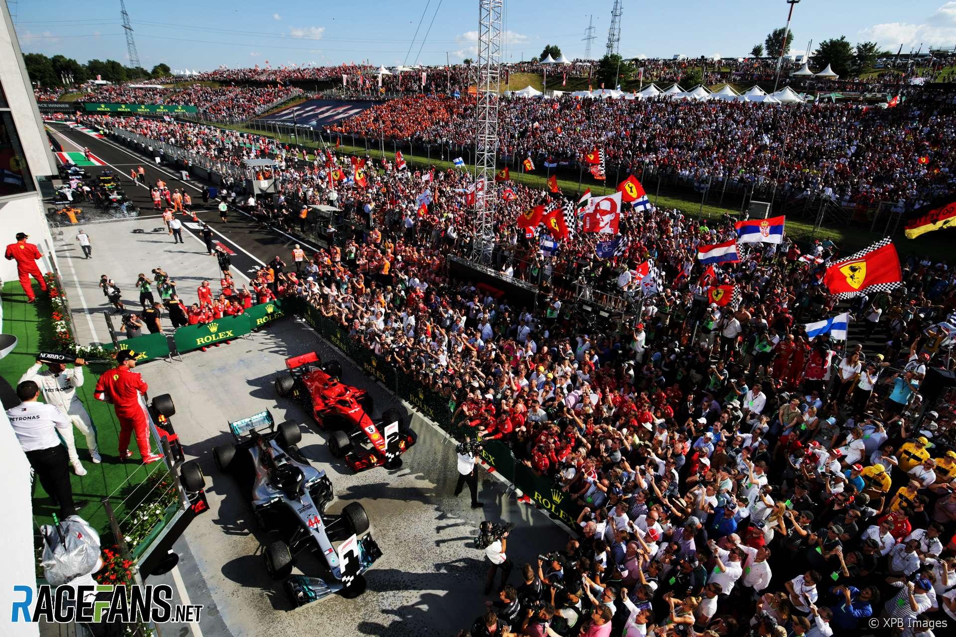 Charlie Whiting Wallpaper: Lewis Hamilton, Mercedes, Hungaroring, 2018 · RaceFans