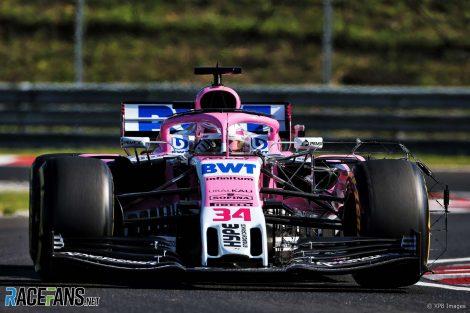 Nicholas Latifi, Force India, Hungaroring