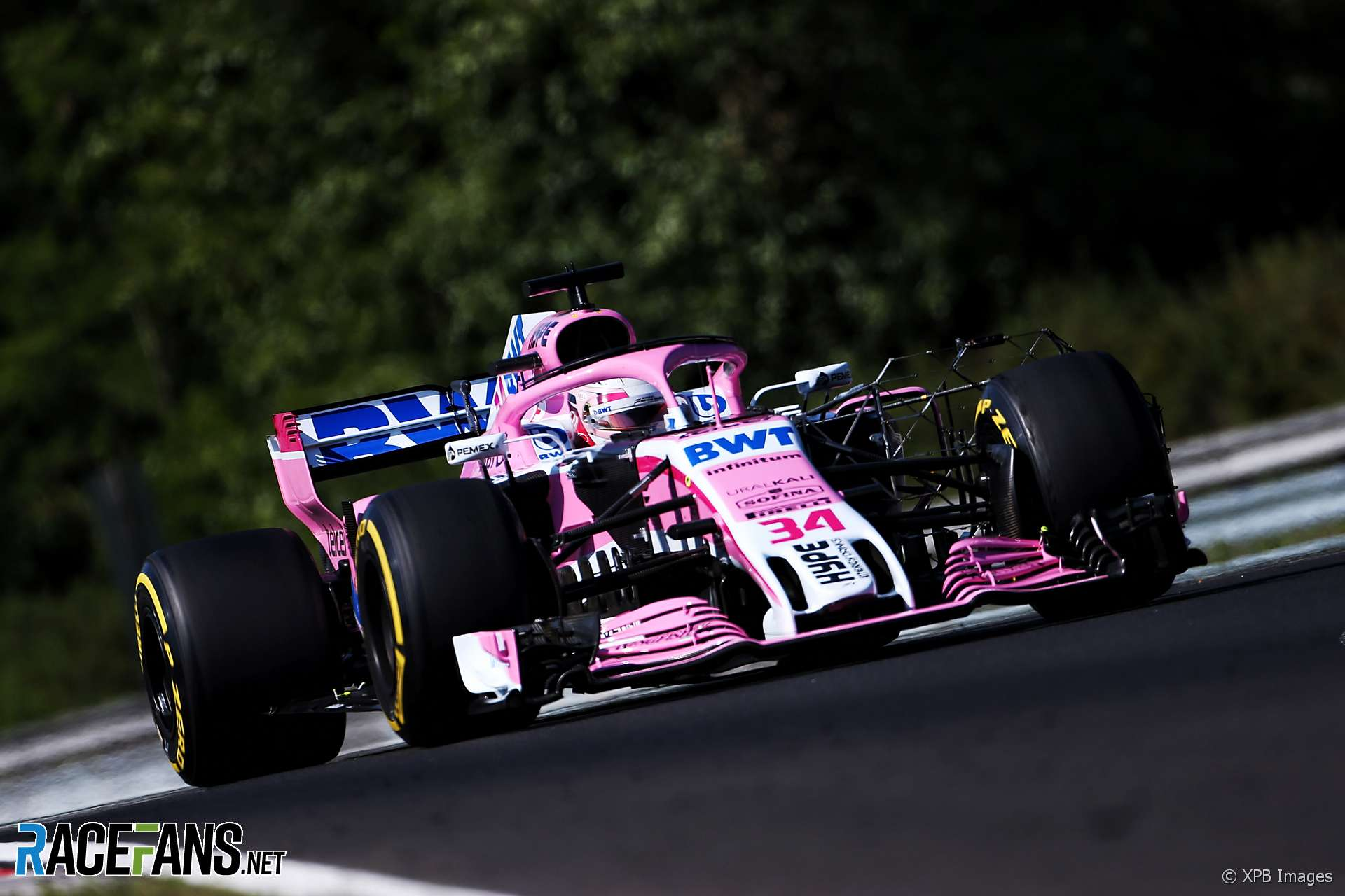 Nicholas Latifi, Force India, Hungaroring