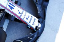 Williams 2019 F1 front wing test, Hungaroring, 2018