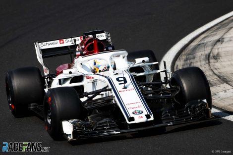 Marcus Ericsson, Sauber, Hungaroring