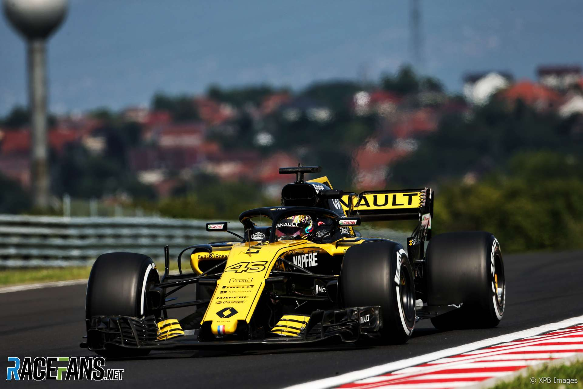 Artem Markelov, Renault, Hungaroring, 2018