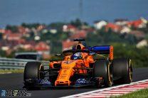 Lando Norris, McLaren, Hungaroring, 2018