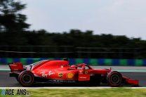 Kimi Raikkonen, Ferrari, Hungaroring