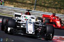Antonio Giovinazzi, Sauber, Hungaroring