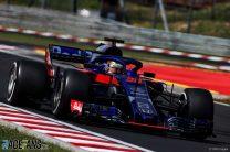 Sean Gelael, Toro Rosso, Hungaroring