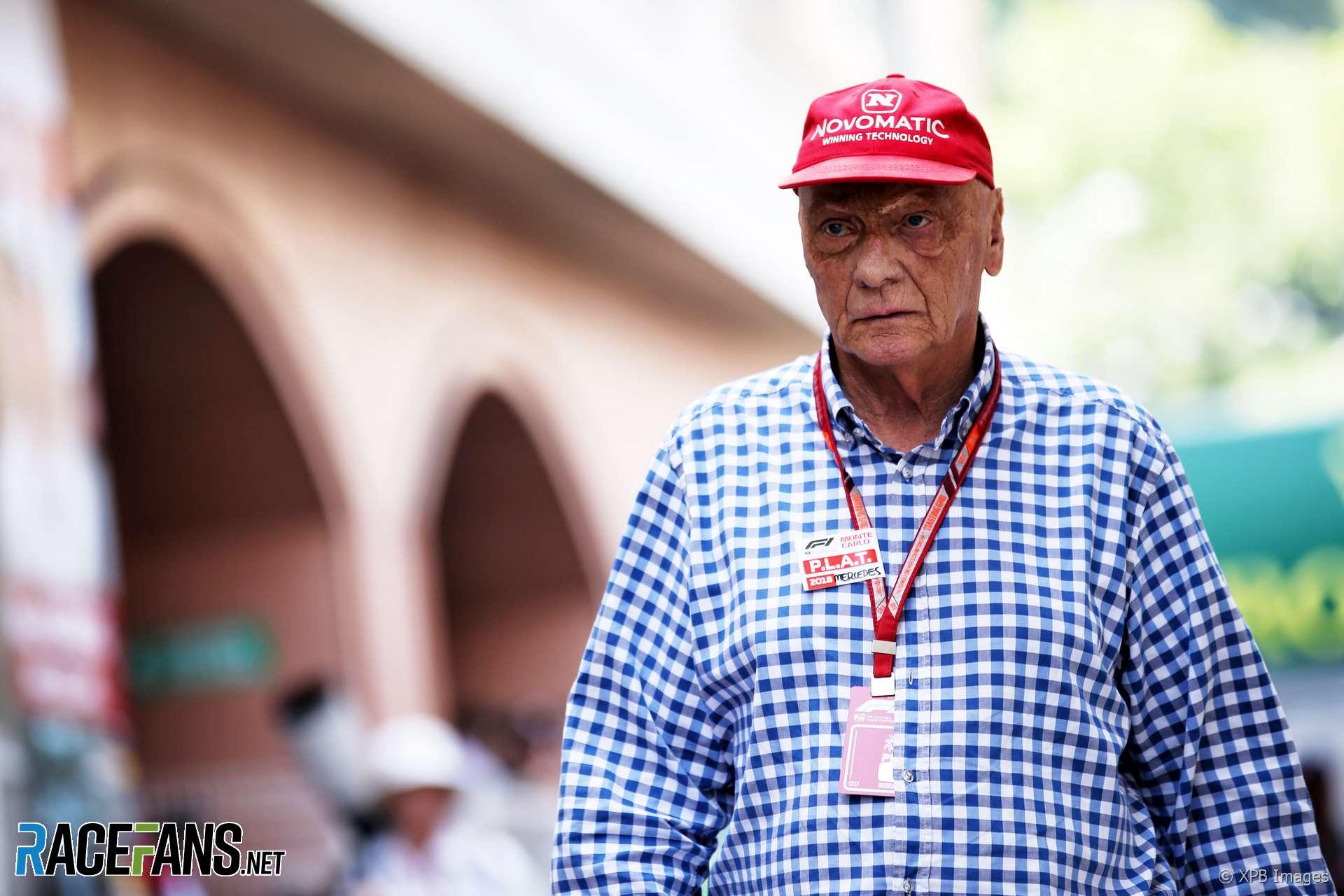 Niki Lauda, Monaco, 2018