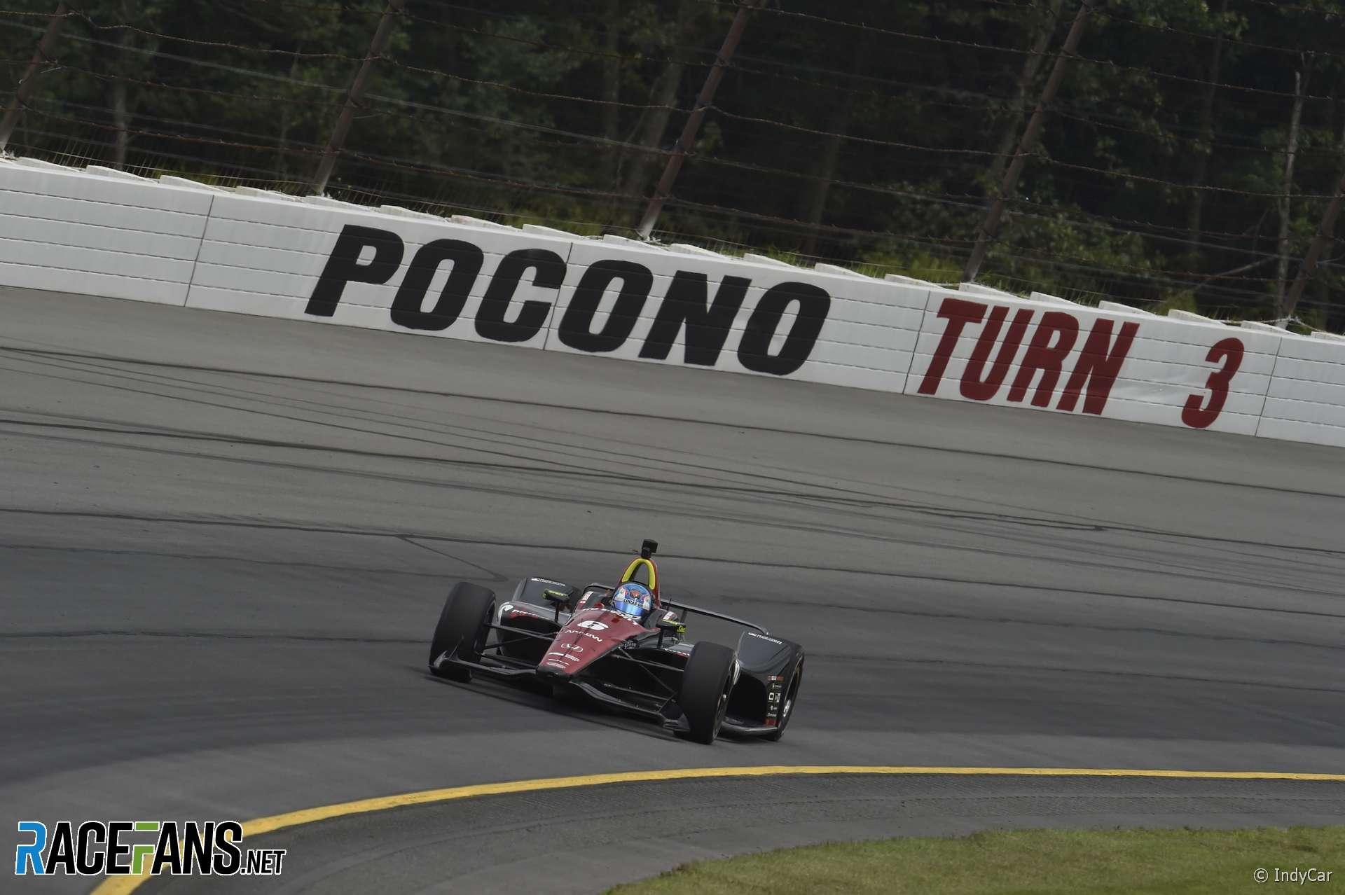 Robert Wickens, Schmidt Peterson, IndyCar, Pocono, 2018