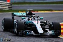 2018 Belgian Grand Prix grid