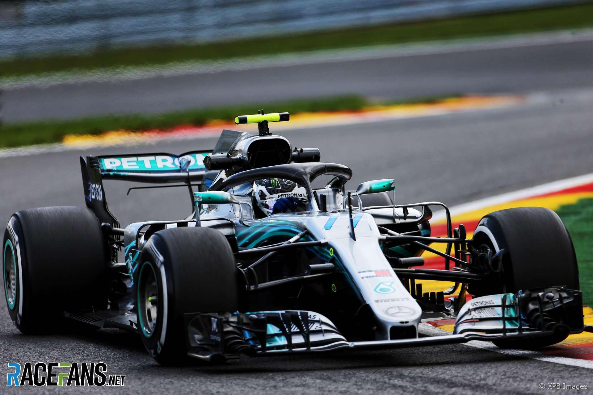 Valtteri Bottas, Mercedes, Spa-Francorchamps, 2018