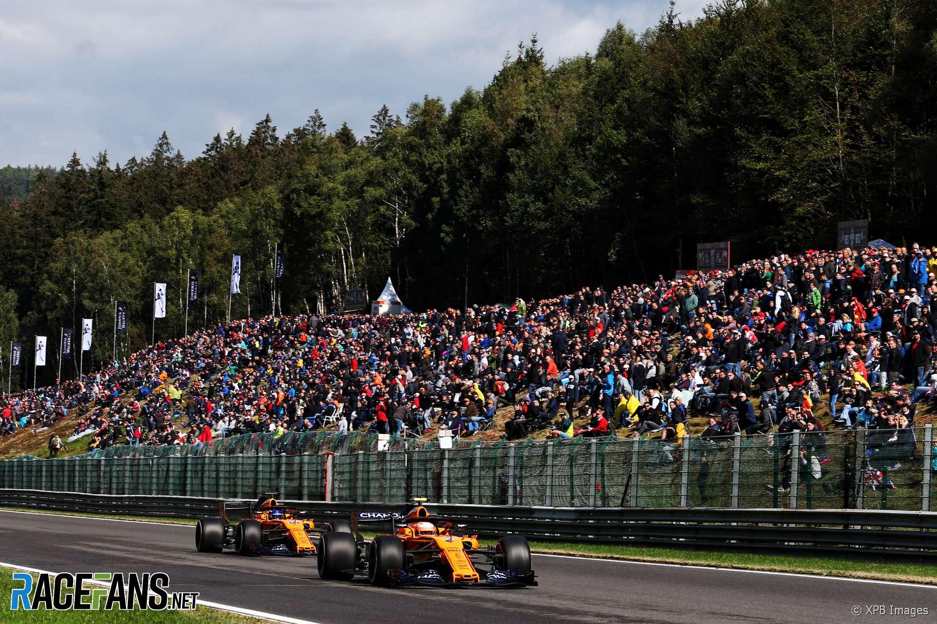 Stoffel Vandoorne, McLaren, Spa-Francorchamps, 2018