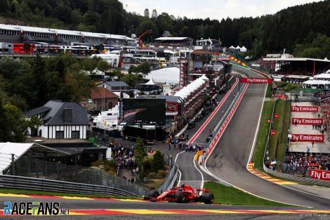 Kimi Raikkonen, Ferrari, Spa-Francorchamps, 2018