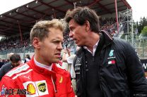 Mercedes keeping options open on Vettel in case Hamilton or Bottas leave, says Wolff