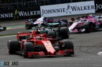 Vettel outruns Hamilton for commanding win at Spa after first-lap crash