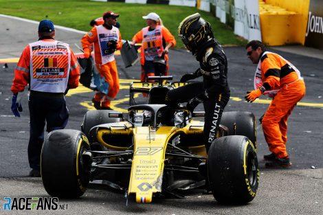 Nico Hulkenberg, Renault, Spa-Francorchamps, 2018