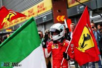 Vettel hopes Ferrari success helps Monza keep its F1 race