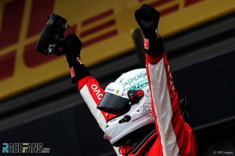 Sebastian Vettel, Ferrari, Spa-Francorchamps, 2018