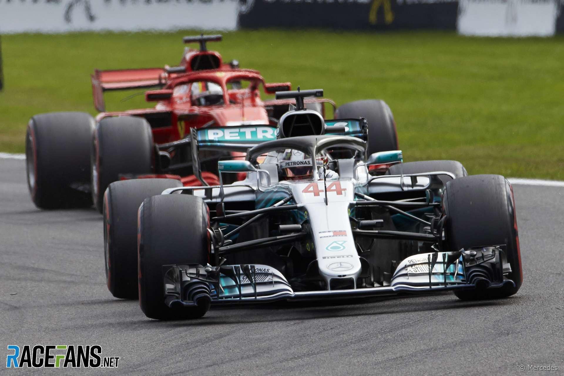 Lewis Hamilton, Mercedes, Spa-Francorchamps, 2018