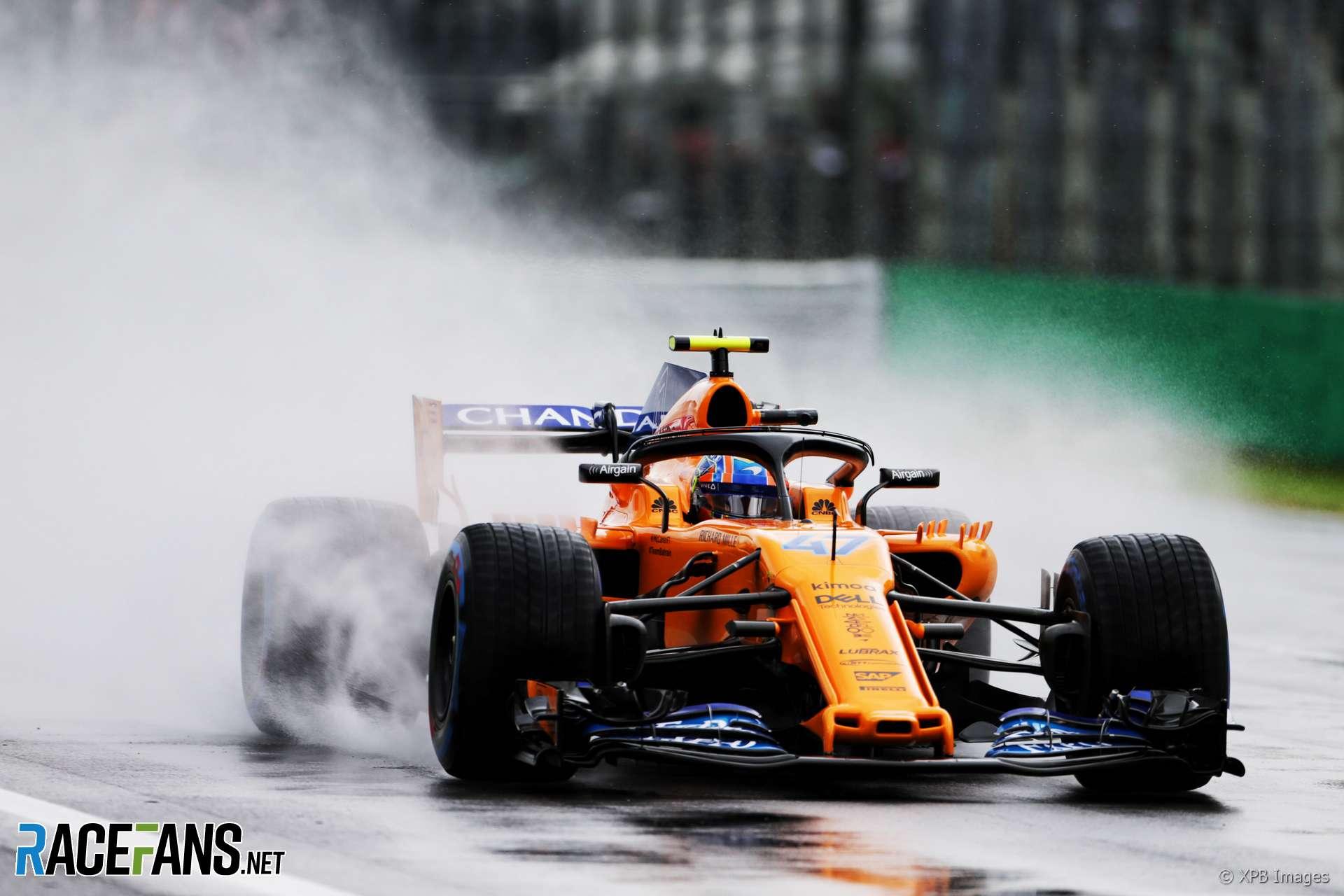 Lando Norris, McLaren, Monza, 2018