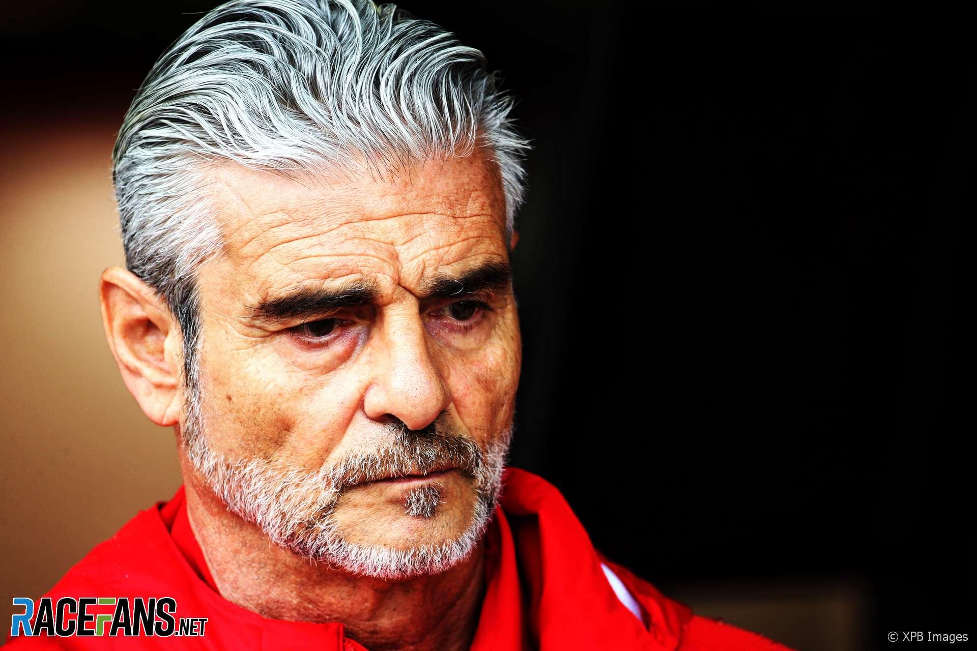 Maurizio Arrivabene, Ferrari, Monza, 2018