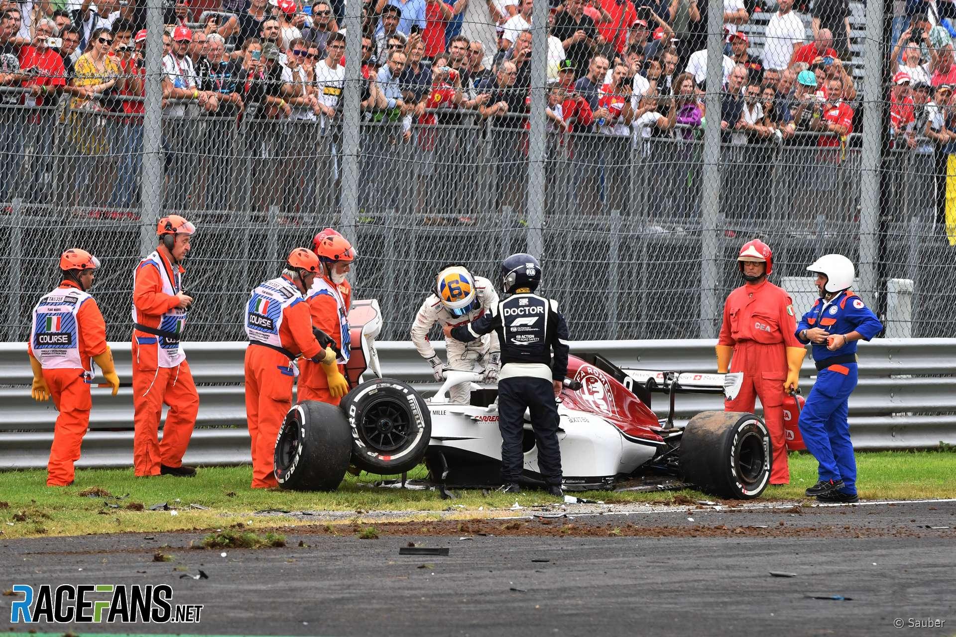 Marcus Ericsson, Sauber, Monza, 2018