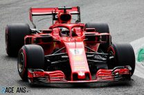 Vettel edges Hamilton by less than a tenth in final practice