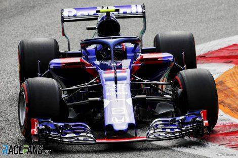 Pierre Gasly, Toro Rosso, Monza, 2018