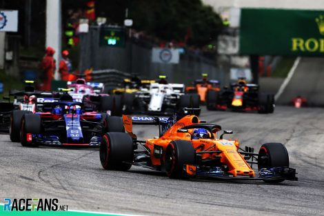 Fernando Alonso, McLaren, Monza, 2018