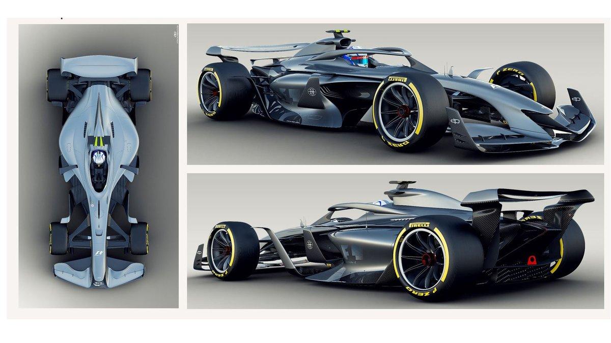 2021 F1 car concept three