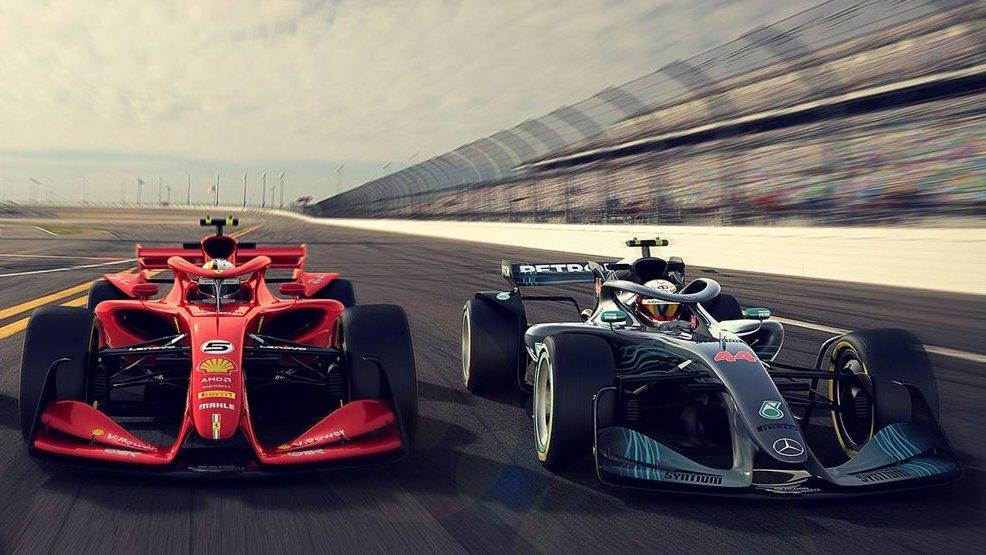 2021 F1 car concepts
