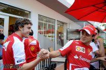 Fernando Alonso, Felipe Massa, Ferrari, 2013