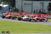 Start, Monza, 2010
