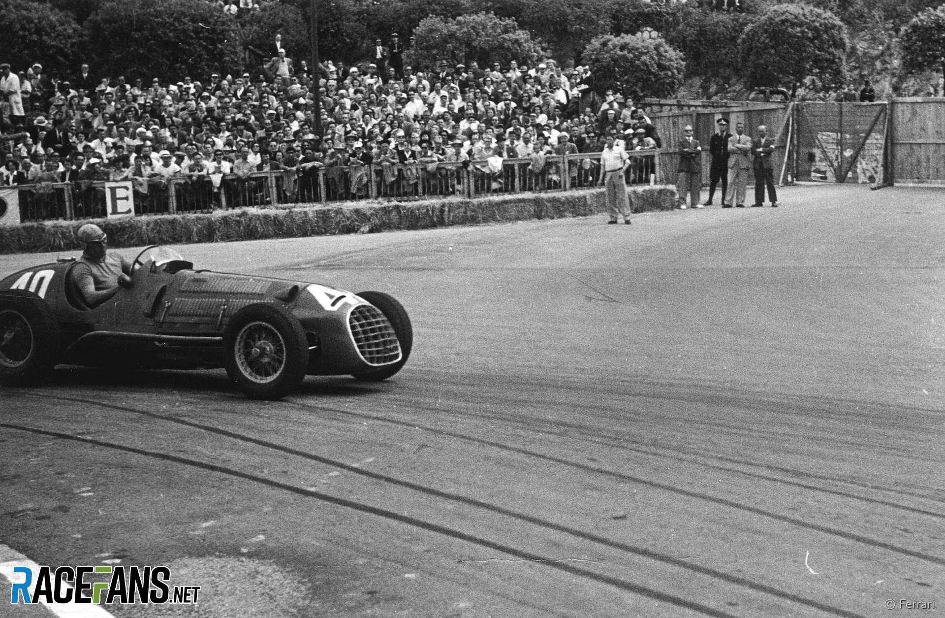 Alberto Ascari, Ferrari, Monaco, 1950