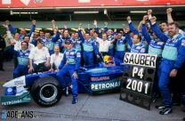 Kimi Raikkonen, Nick Heidfeld, Peter Sauber, 2001