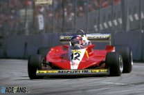 Gilles Villeneuve, Ferrari, Long Beach, 1978