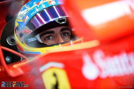 Fernando Alonso, Ferrari, Circuit Gilles Villeneuve, Montreal, 2014