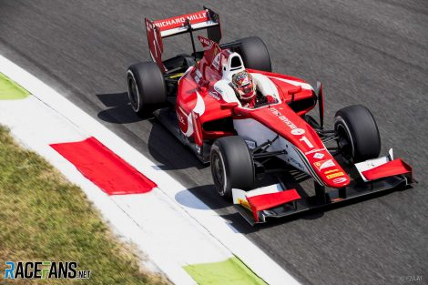 Charles Leclerc, F2, Prema, Monza, 2017
