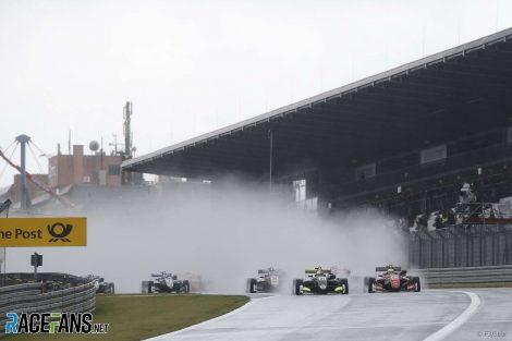 Start, European F3, Nurburgring, 2017