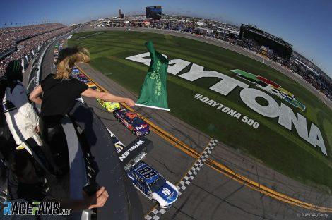 Start, NASCAR, Daytona 500, 2018