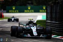 Valtteri Bottas, Mercedes, Monza, 2018