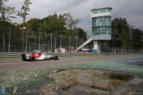 Charles Leclerc, Sauber, Monza, 2018