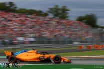 Stoffel Vandoorne, McLaren, Monza, 2018