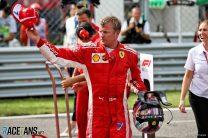 Raikkonen learned he'd lost Ferrari drive at Monza