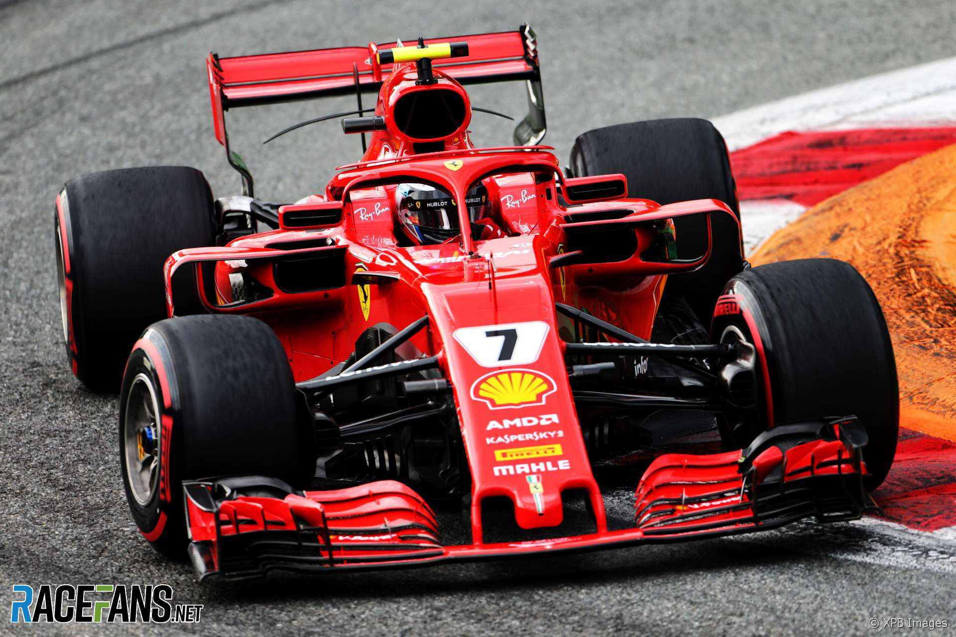 Raikkonen's F1 lap speed record stands for another year