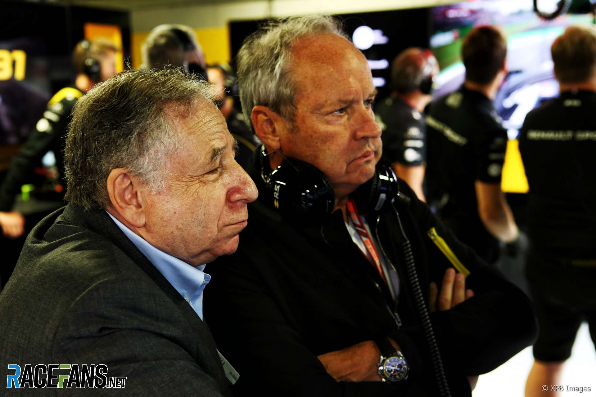Jean Todt, Jerome Stoll, Monza, 2018