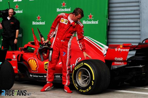 Kimi Raikkonen, Ferrari, Monza, 2018