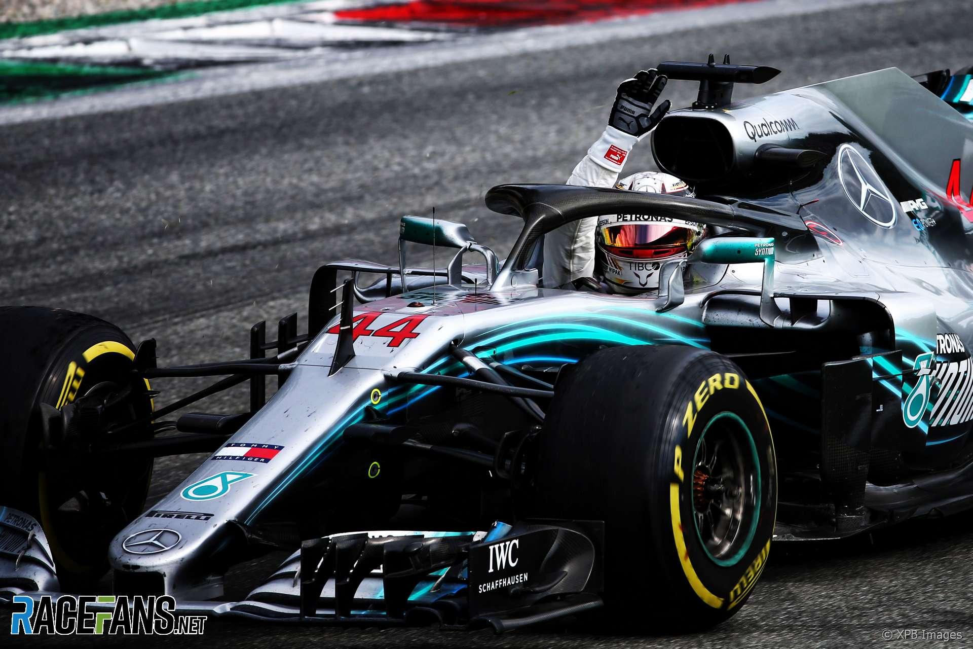 Lewis Hamilton, Mercedes, Monza, 2018