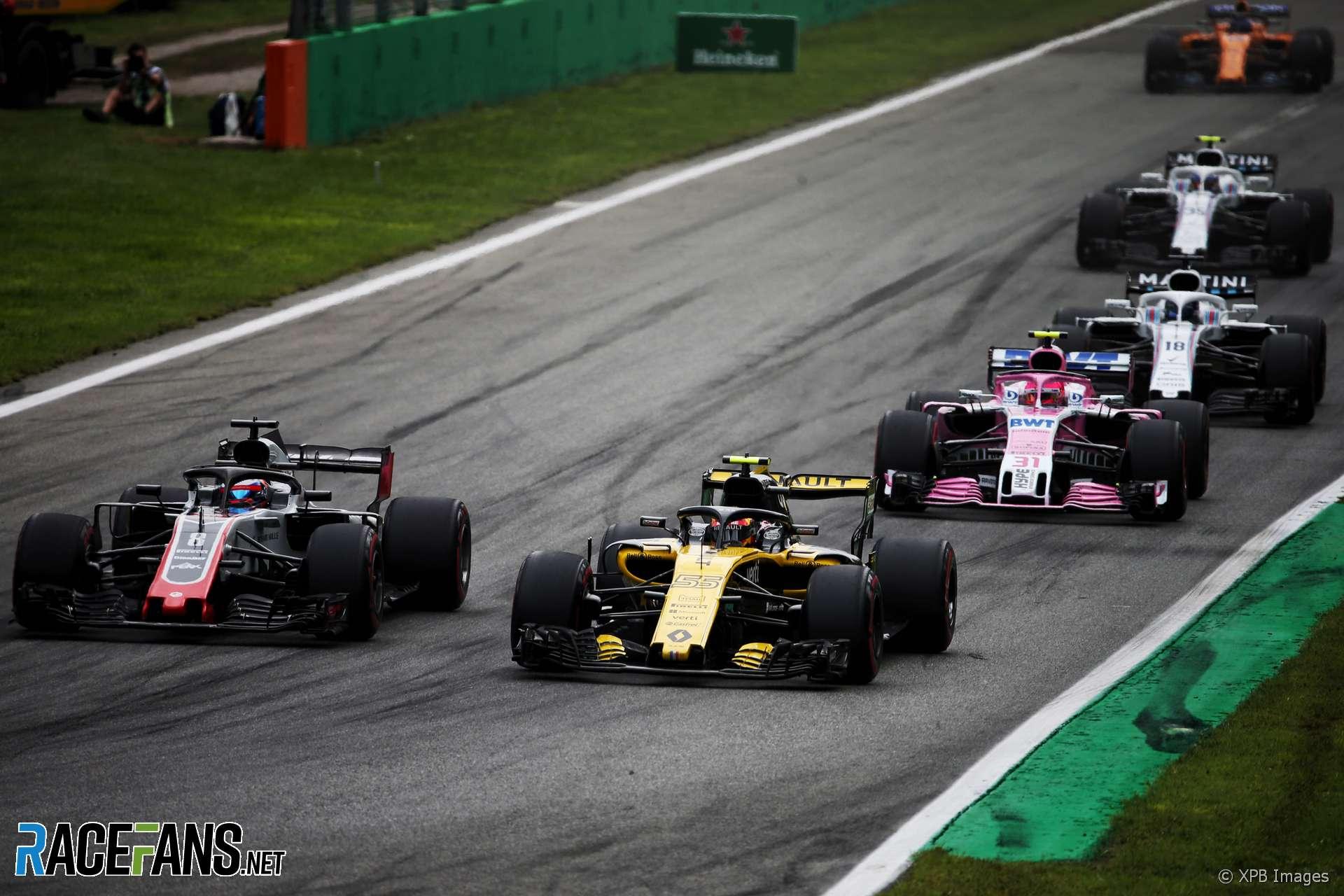 Carlos Sainz Jnr, Renault, Monza, 2018