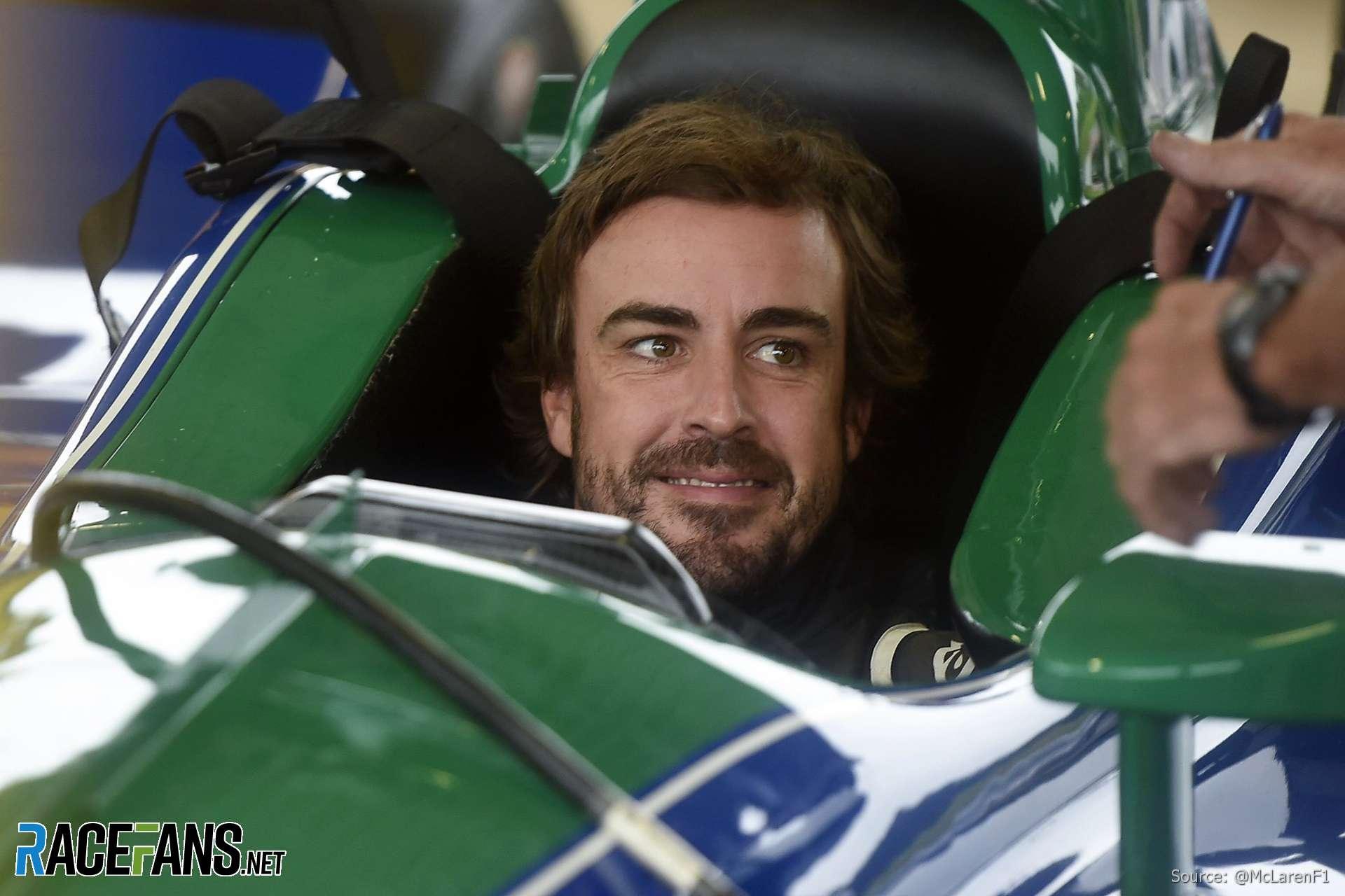 Fernando Alonso, IndyCar, Barber Motorsports Park, 2018